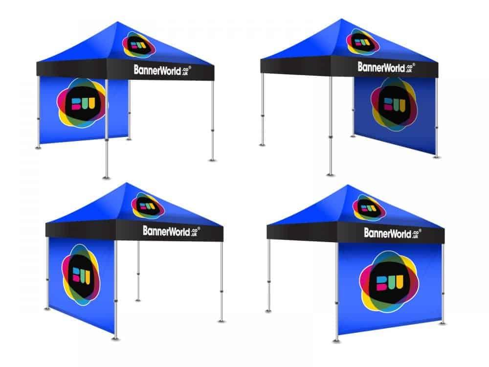 Printed gazebo configuration
