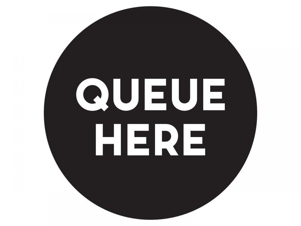 Queue-here-BLACK