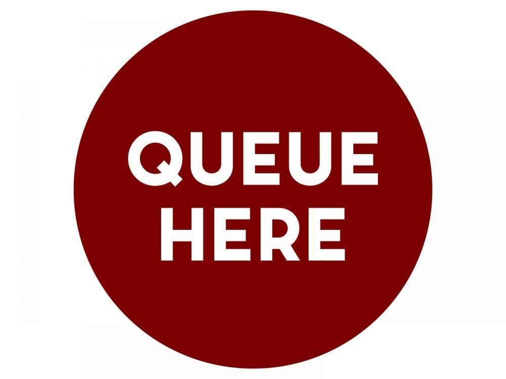 Queue-here-BURGUNDY