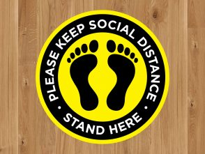 Queue Marker for Social Distancing