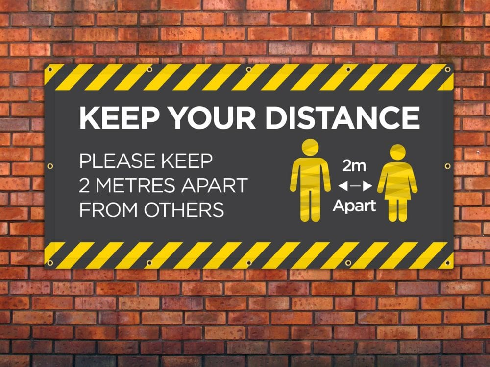 Keep Your Distance 3 Banner