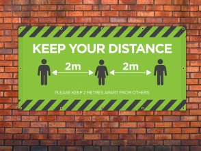 Keep Your Distance 4 Banner