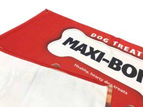 Textile backlight banner material