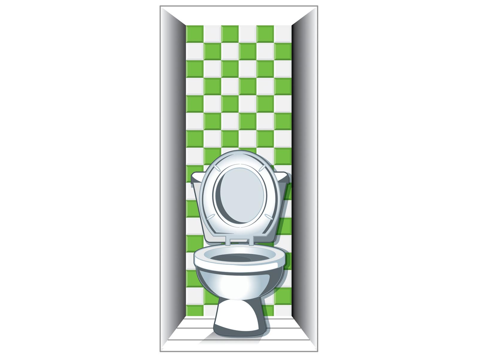 Amazing Toilet Dementia Door Wrap For Care Homes And Hospitals Onthecornerstone Fun Painted Chair Ideas Images Onthecornerstoneorg