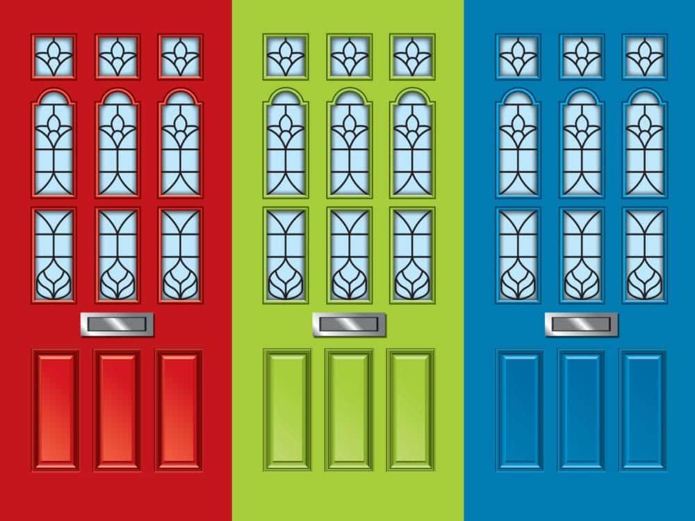 Dementia door wrap vintage effect