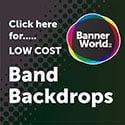 125 x 125 band backdrops