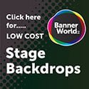 125 x 125 stage backdrops