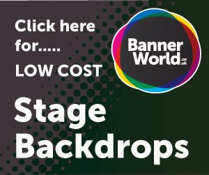 300 x 250 stage backdrops