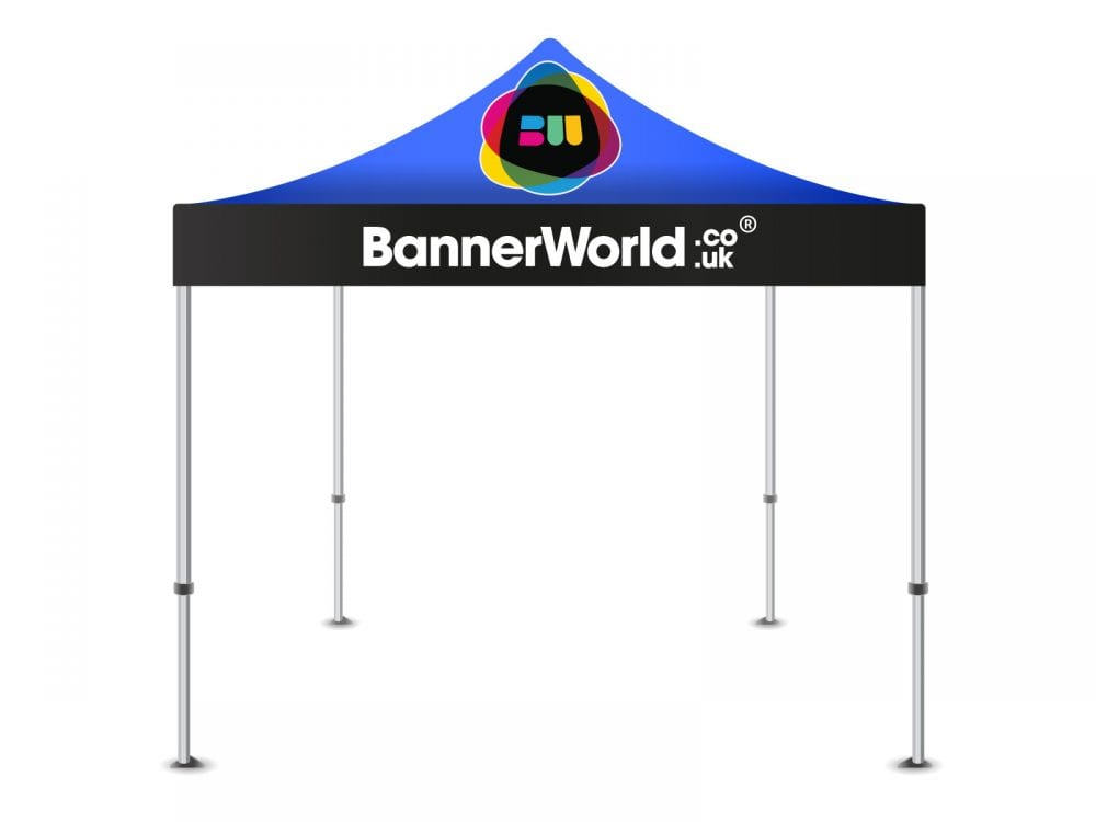 Printed gazebo with canopy