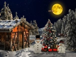 Christmas Backdrop 01