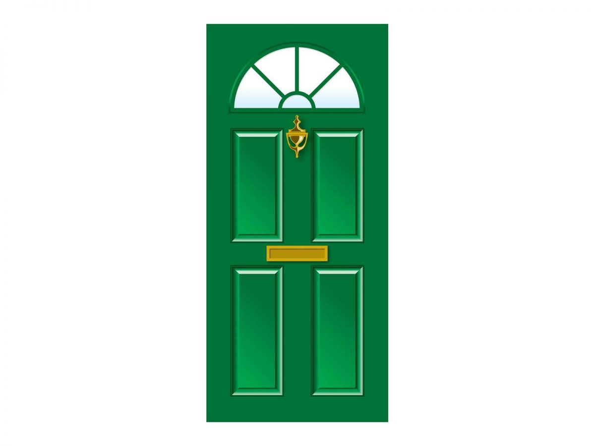 Dementia Care Home door Vinyl