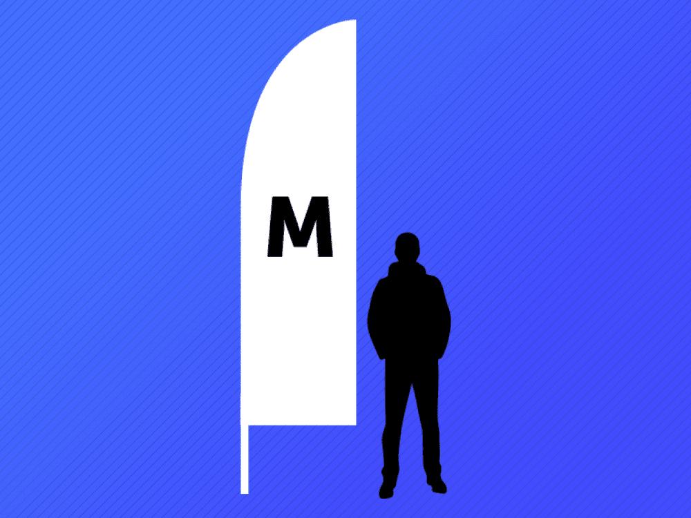 Medium Original Feather Flag
