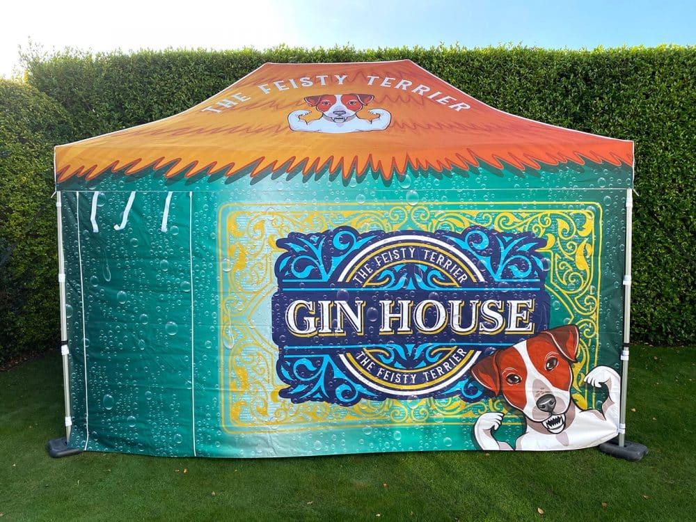 Gin House Printed Gazebo