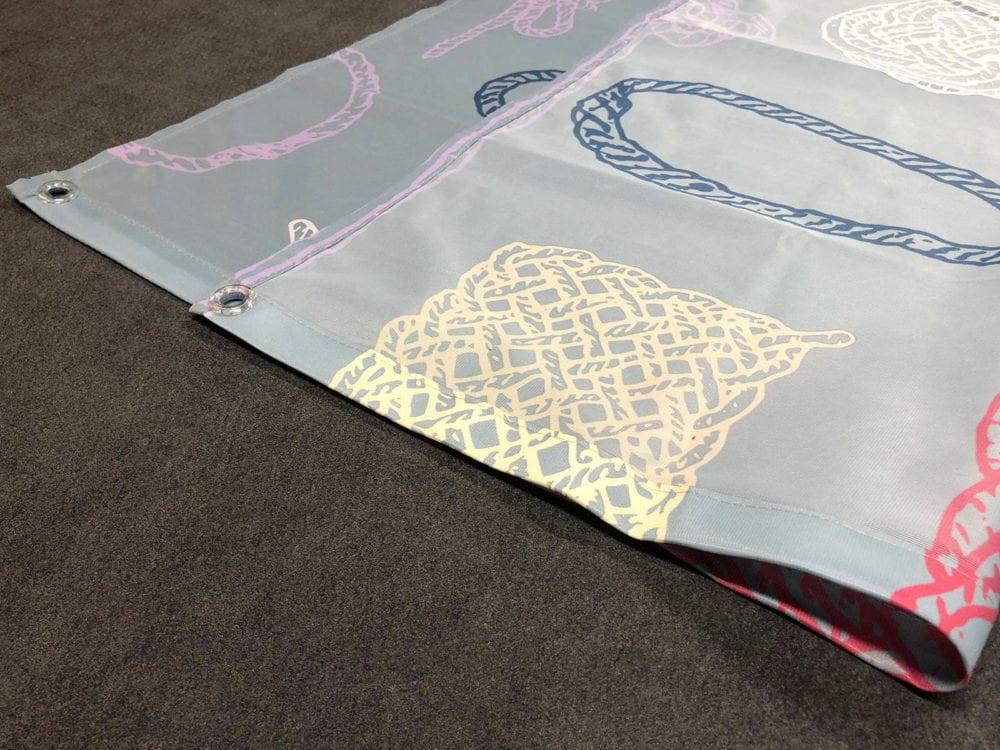 polyester 115 dye sub printed