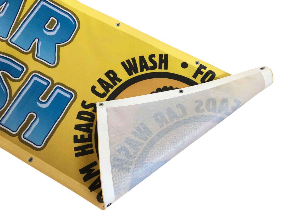 Mesh Banner Car Wash