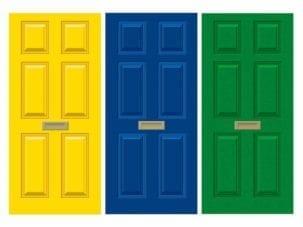 Old Style Dementia Door Wrap