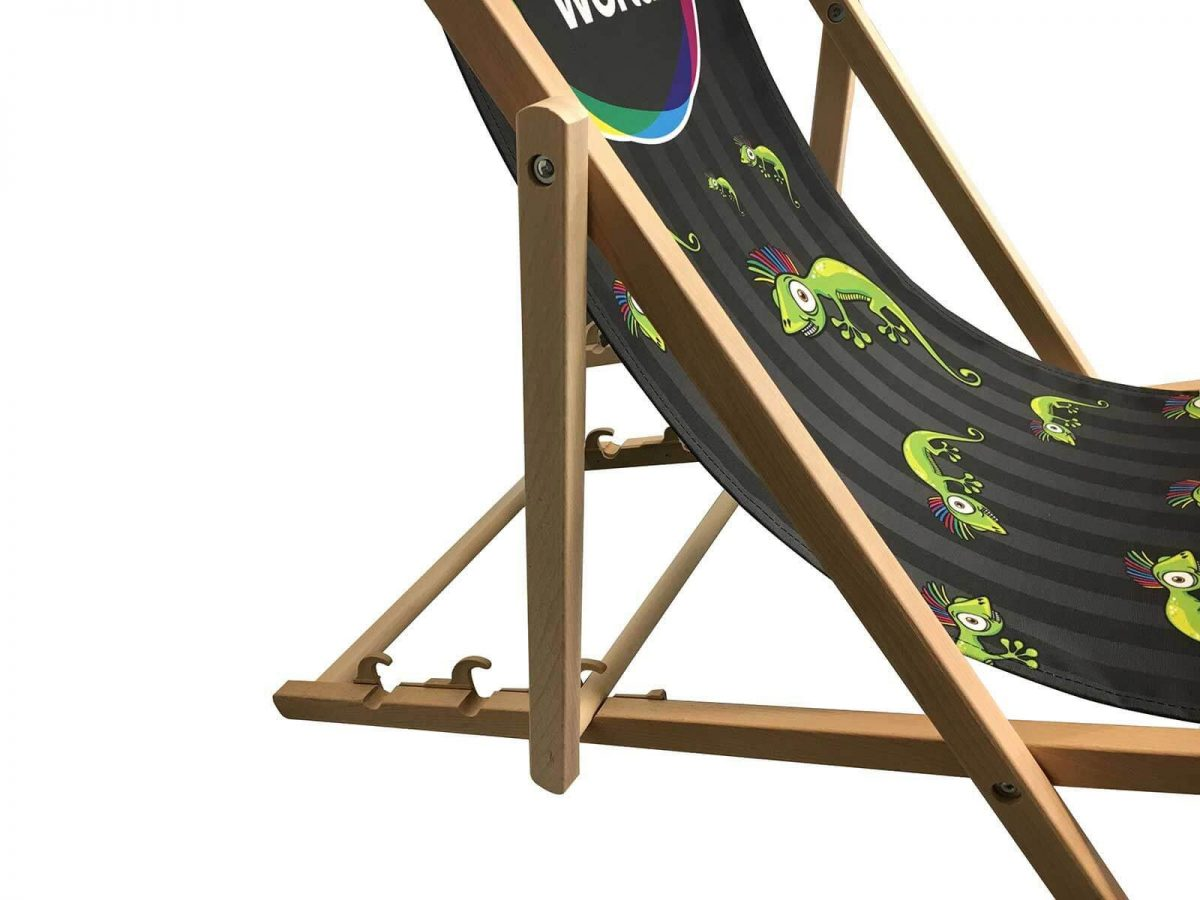 Branded Personalised Deck Chair