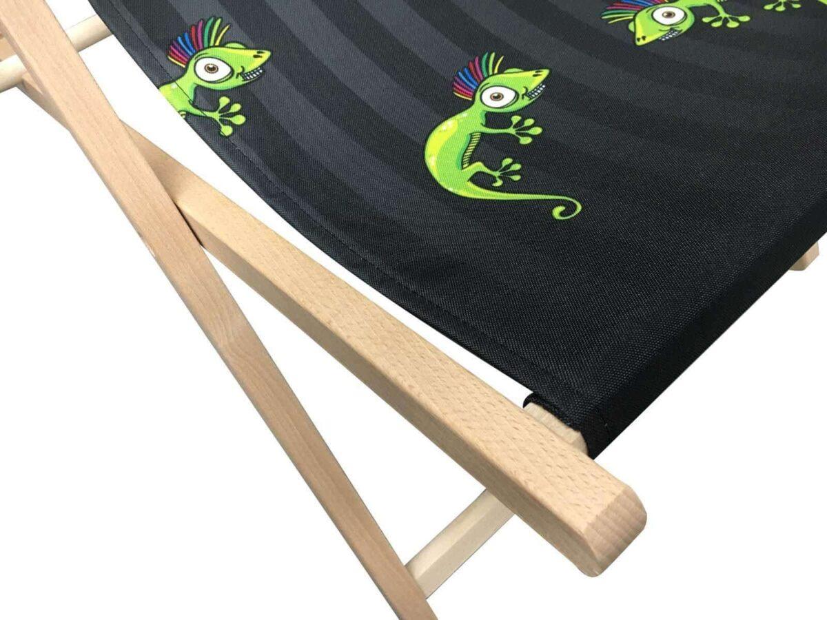 Full Colour Print My Design Deckchair
