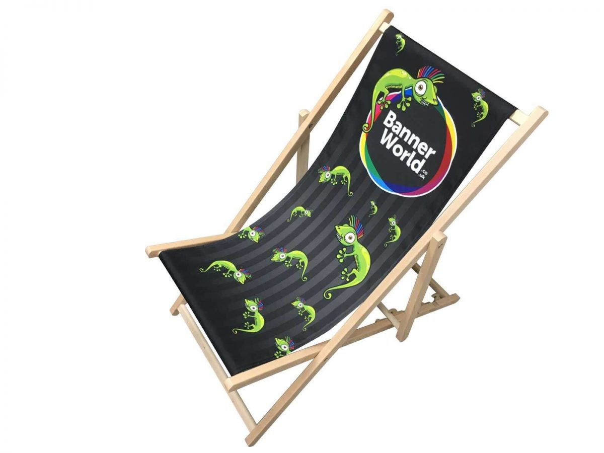 Full Colour printed deckchair