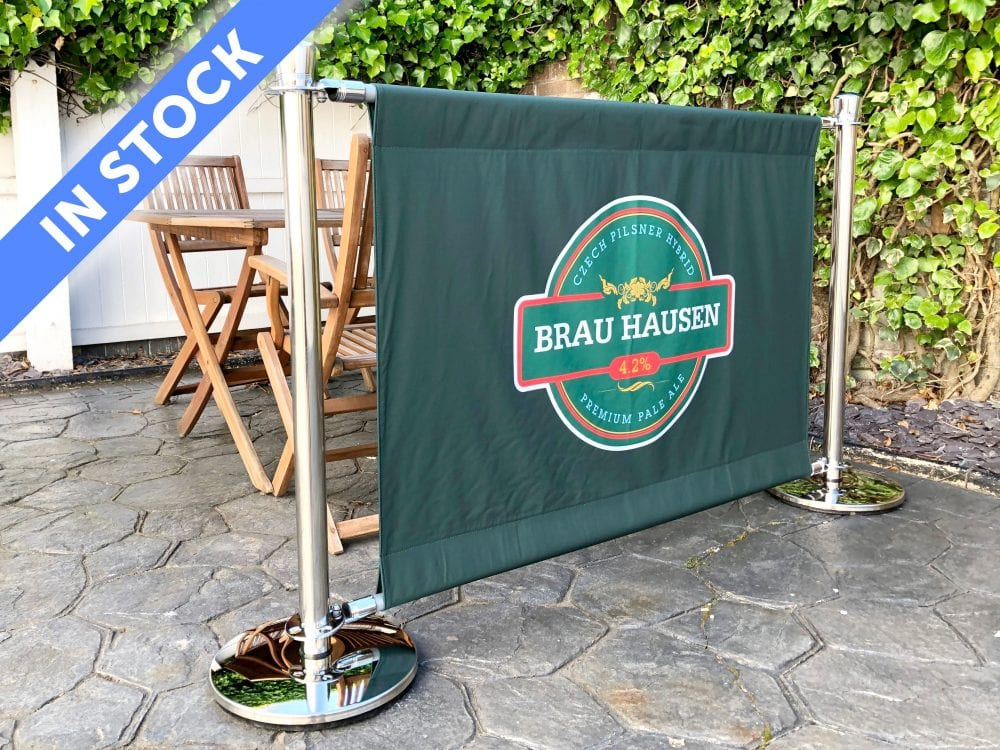 Premium Cafe Barriers In Stock