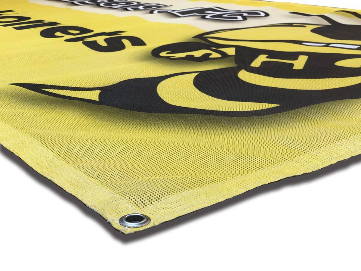 environmentally friendly mesh banners