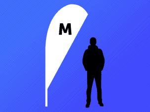 Medium Quill Flag
