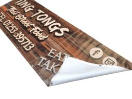 evironmentally friendly printed banners london