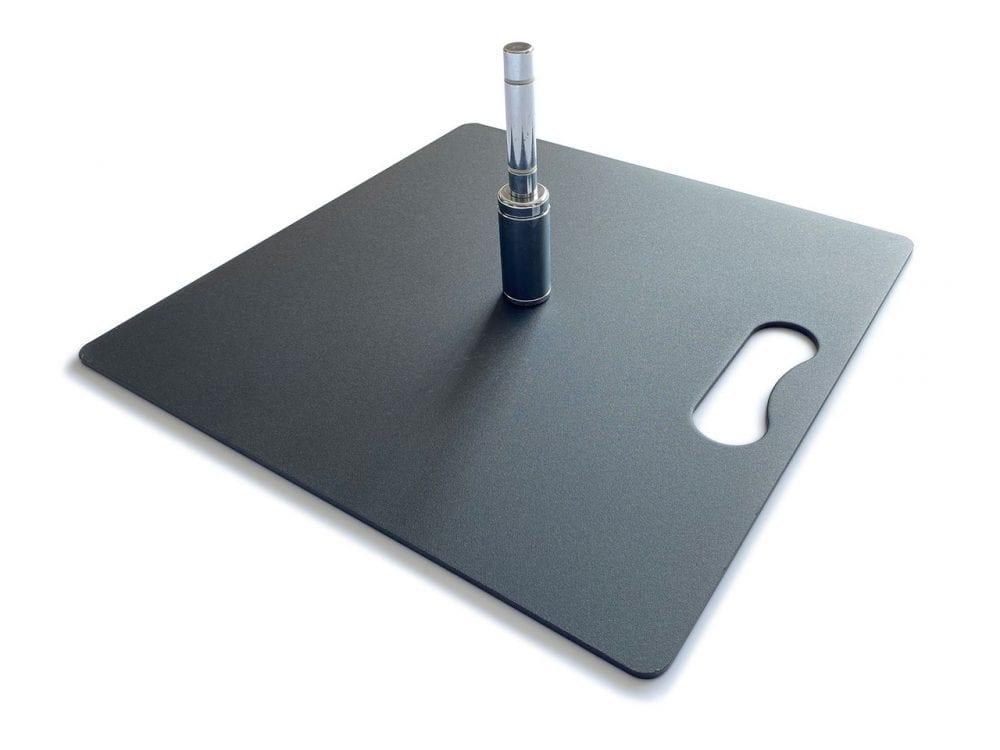 square base plate