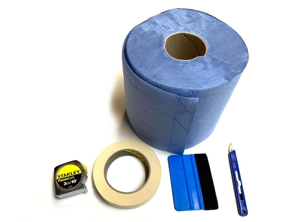 Vinyl application tools
