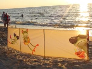 Custom Printed Windbreak
